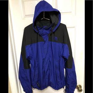 The North Face windbreaker hooded jacket men L